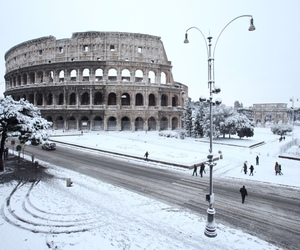italy, rome, and colosseum image