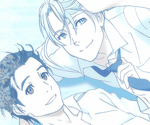 anime, wallpaper, and yuri!!! on ice image