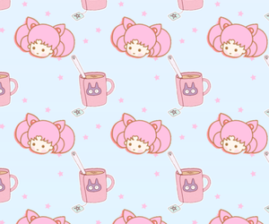 background, sailor moon, and pink image