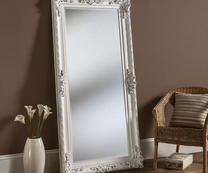 frame, large, and mirror image
