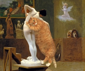 art, Jean-Leon Gerome, and painting image