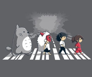 totoro, spirited away, and studio ghibli image
