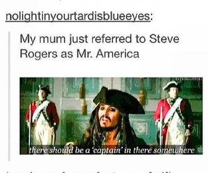 captain america, funny, and jack sparrow image