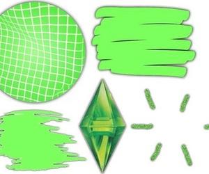 green, overlay, and edits image