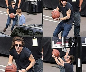 Basketball, Harry Styles, and 1d image