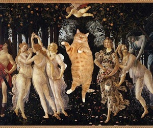 art, botticelli, and primavera image