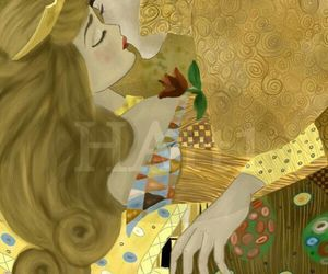 disney, klimt, and art image