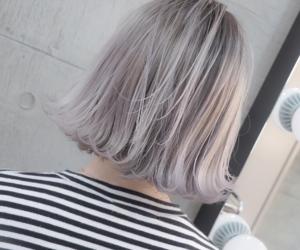 fashion, silver hair, and hair image