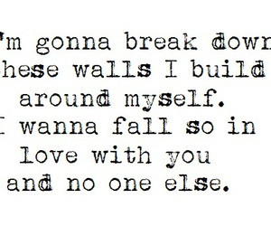 all time low, boyfriend, and break down image