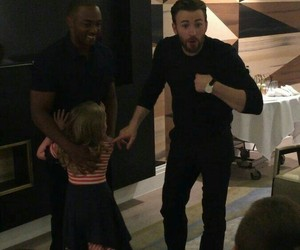 chris evans and anthony mackie image