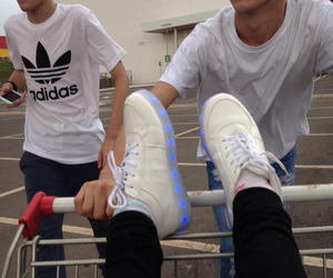 adidas, boy, and aesthetic image