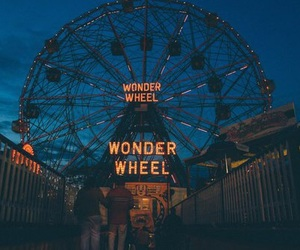 tumblr, night, and wheel image