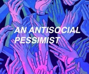 grunge, aesthetic, and antisocial image
