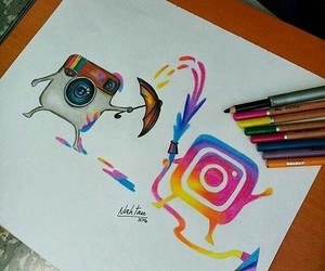 art, instagram, and scetchbook image