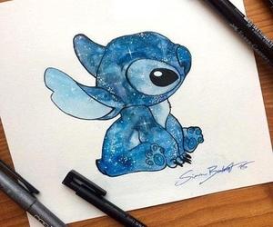 drawing, stitch, and disney image