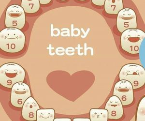 baby and teeth image