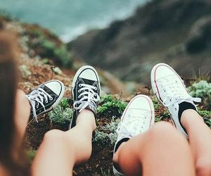 converse, girls, and photography image