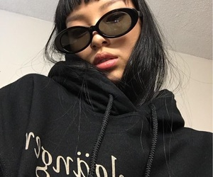 90s, fashion, and sunglasses image