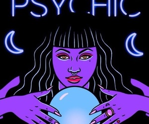 psychic, alien, and art image