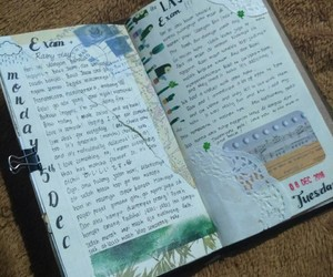 art, journaling, and tape image