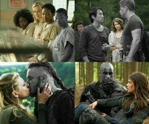 dead, vikings, and the walking dead image
