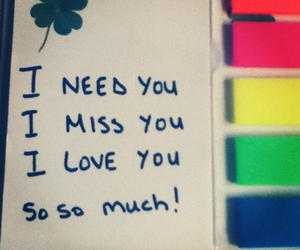 love, need, and you image