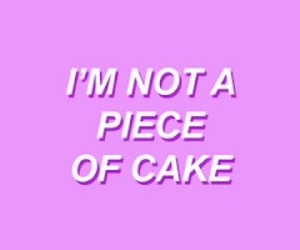 cake, cry baby, and Lyrics image