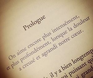 french, quotes, and prologue image