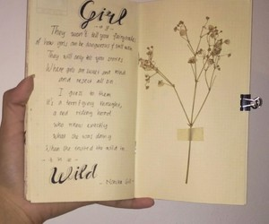 art, journaling, and baby's breath image