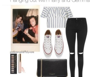 Polyvore, Harry Styles, and one direction image