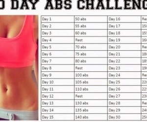 abs, fitness, and challenge image