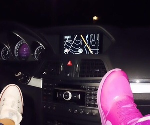 car, converse, and friendship image