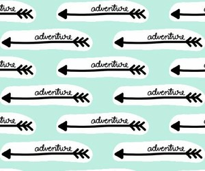 adventure, arrows, and blue image