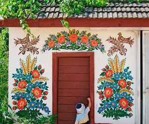 colors, door, and folk image