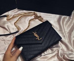 YSL, bag, and luxury image