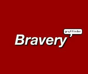bravery, gryffindor, and hogwarts image