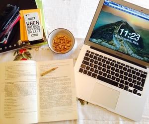 book, work, and homework image
