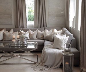 apartment, candles, and home image
