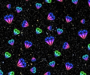background, galaxy, and bright image