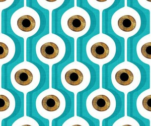 art, pattern, and turquoise image