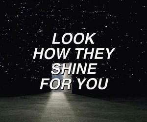Lyrics and stars image