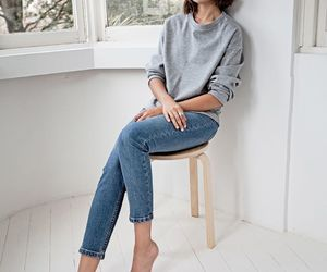blog, grey sweater, and blogger image