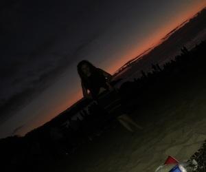 playa, summer, and amanecer image