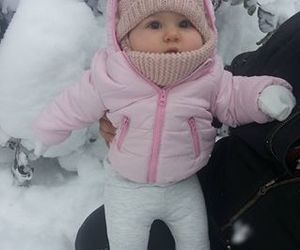 baby, cold, and outfit image