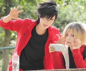 haikyuu and cosplay image