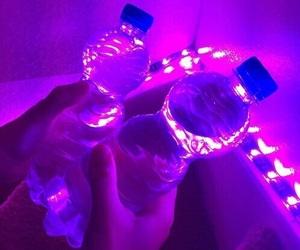 purple, neon, and aesthetic image