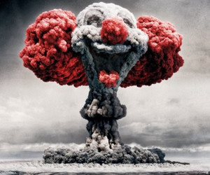 clown and bomb image