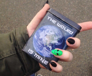 aesthetic, grunge, and nails image