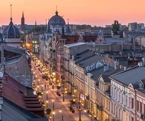 beautiful places, lodz, and old town image