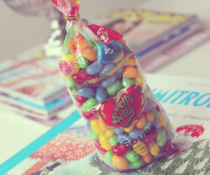 color, jelly beans, and sour image